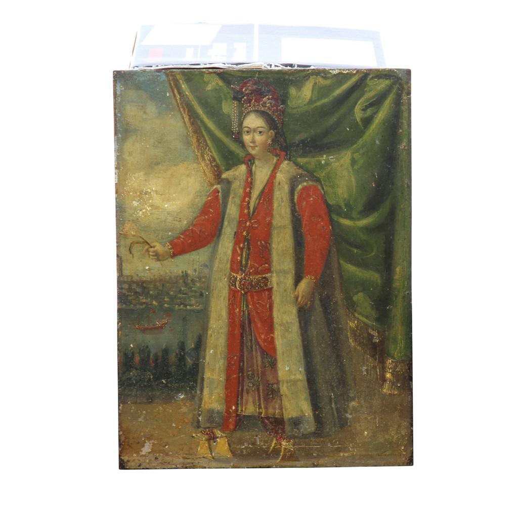 Osmanische Herrscherin vor Istanbul