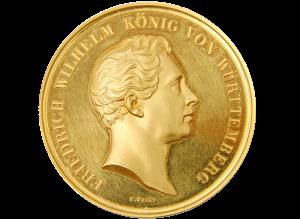 Foto einer Goldmünze.