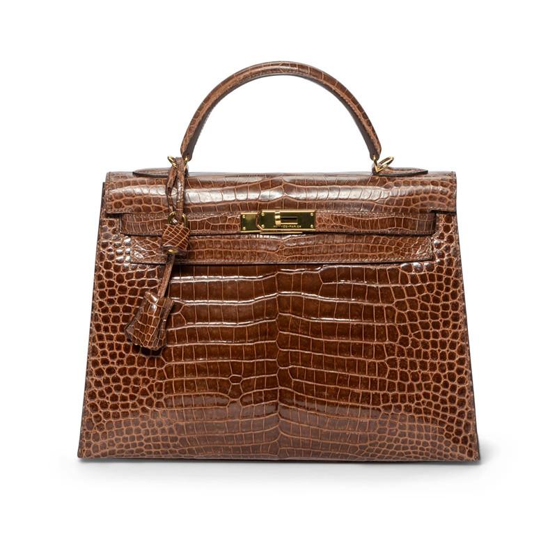 Foto einer Handtasche von Hermès.