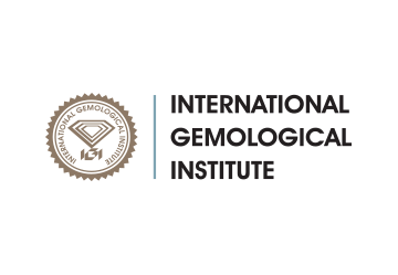 Logo des International Gemological Institute.