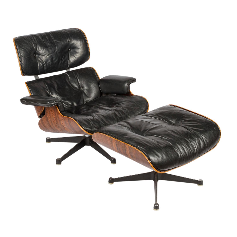 """""""Lounge Chair mit Ottomane"""" von RAY & CHARLES EAMES"""