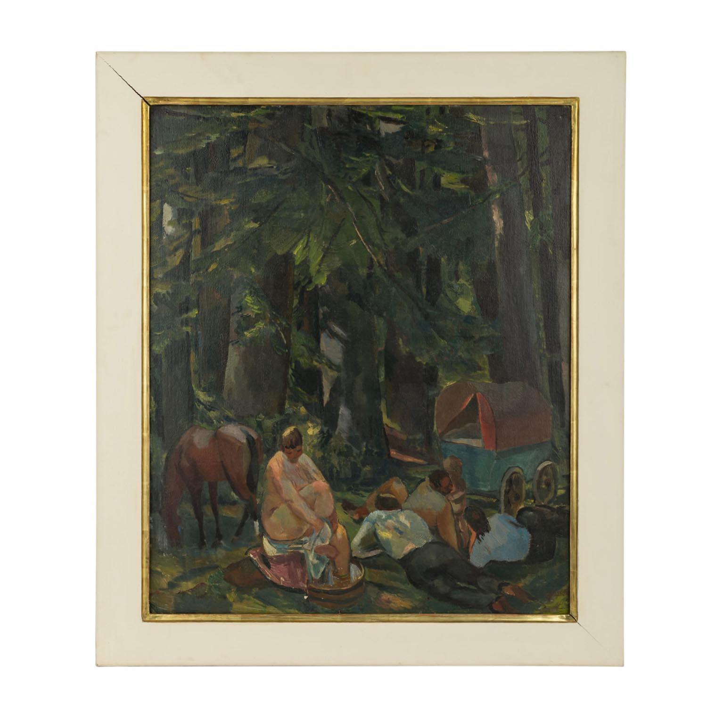 """""""Rast im Walde"""" von ALBERT WEISGERBER"""